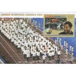 سونیرشیت بازیهای المپیک لندن - کوبا 2012