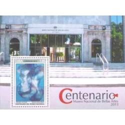 سونیرشیت صدمین سال موزه ملی هنرهای زیبا - هاوانا - کوبا 2013