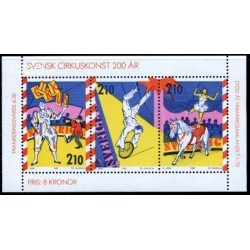 سونیرشیت هنر سیرک - سوئد 1987