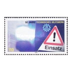1 عدد تمبر پنجاهمین سالگرد راهنمای فنی اتومبیل - جمهوری فدرال آلمان 2000