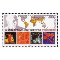 1 عدد تمبر انستیتو برنهارد ناخت - جمهوری فدرال آلمان 2000