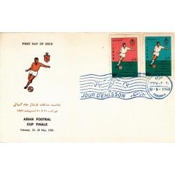 مهر روز انتشار تمبر مسابقات جام آسیائی 1347