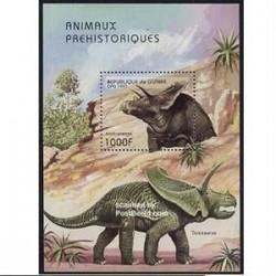 سونیرشیت دایناسورها - آنچیسراتوپس - جمهوری گینه 1997