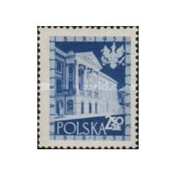 1 عدد تمبر صد و چهل سالگی دانشگاه ورشو - لهستان 1958