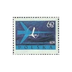 1 عدد تمبر 30مین سال خطوط هوائی لهستان - لهستان 1959