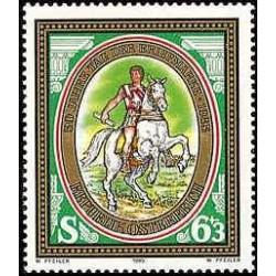 1 عدد تمبر روز تمبر - اتریش 1985