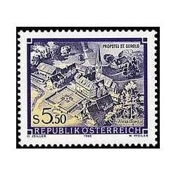1 عدد تمبر سری پستی مناظر - St. Gerold - اتریش 1986