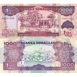 اسکناس 1000 شلینگ - سومالی لند 2011