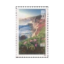 1 عدد تمبر 150مین سالگی کالیفرنیا - خودچسب - آمریکا 2000