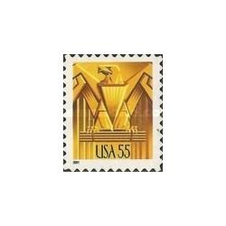 1 عدد تمبر عقاب - آمریکا 2001