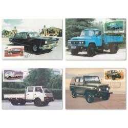 4 عدد ماکزیمم کارت صنعت خودرو - ماشینها - چین 1996