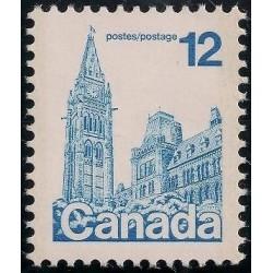 1 عدد تمبر سری پستی - ساختمان پارلمان - کانادا 1977