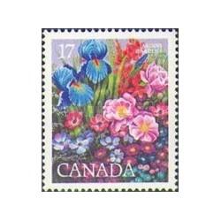 1 عدد تمبر نمایشگاه بین المللی گل و گیاه - مونترال - کانادا 1980