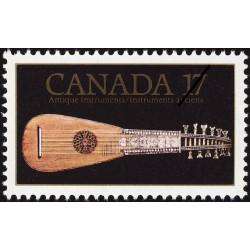 1 عدد تمبر نمایشگاه نگاه موسیقی - ونکور - کانادا 1981