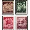 4 عدد تمبر خیریه - مادر و فرزند - رایش آلمان 1944
