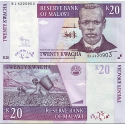 اسکناس 20 کواچا - مالاوی 2009
