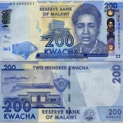 اسکناس 200 کواچا - مالاوی 2012
