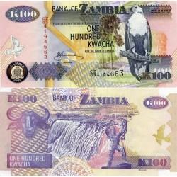 اسکناس 100 کواچا - زامبیا 2009