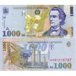 اسکناس 1000 لی - رومانی 1998 واترمارک 2