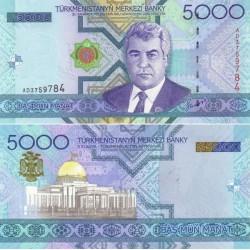 اسکناس 5000 منات - ترکمنستان 2005