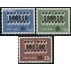 3 عدد تمبر مشترک اروپا - Europa Cept - پرتغال 1962