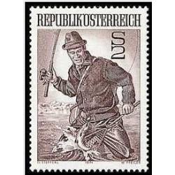 1 عدد تمبر ورزشی - اتریش 1971