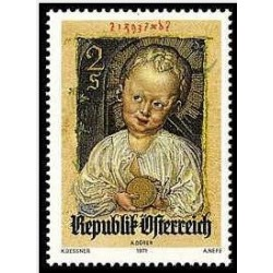 1 عدد تمبر کریسمس - اتریش 1971