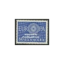 1 عدد تمبر مشترک اروپا - Europa Cept - دانمارک 1960