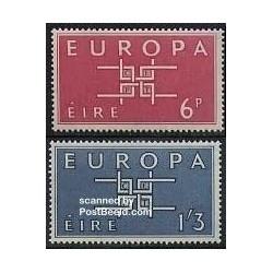2 عدد تمبر مشترک اروپا - Europa Cept - ایرلند 1963