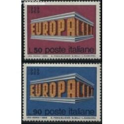2 عدد تمبر مشترک اروپا - Europa Cept - ایتالیا 1969