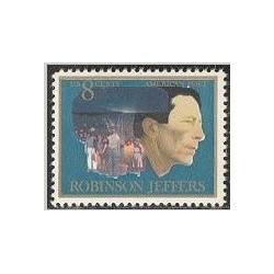 1 عدد تمبر صدمین سالگرد جی آر جفرز - آمریکا 1973