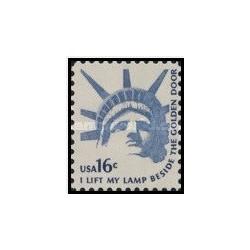 1 عدد تمبر صدور ساخت مجسمه آزادی در آمریکا - آمریکا 1978