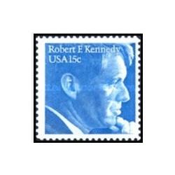 1 عدد تمبر رابرت اف کندی 1925-1968- آمریکا 1979