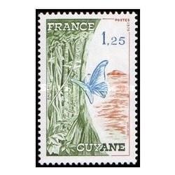1 عدد تمبر مناطقی از فرانسه ، گویان - فرانسه 1976