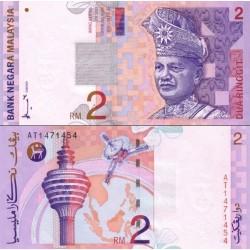 اسکناس 2 رینگیت - مالزی 1996 امضاء عمودی Ahmad M. Don