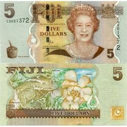 اسکناس 5 دلار - فیجی 2011