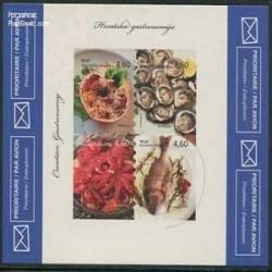 مینی شیت برچسبی غذاهای دریائی- کرواسی 2012