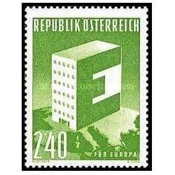 1 عدد تمبر مشترک اروپا - Europa Cept - اتریش 1959