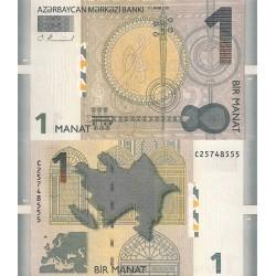 اسکناس 1 منات - آذربایجان 2009