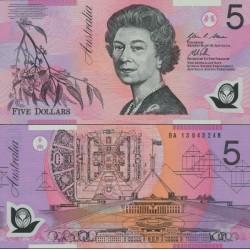 اسکناس پلیمر 5 دلار - استرالیا 2013