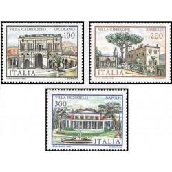 3 عدد تمبر ساختمانهای معروف - ایتالیا 1981