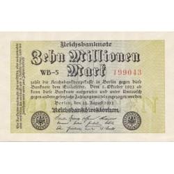 اسکناس 1 میلیون مارک  - آلمان 1923 بسیار عالی در حد بانکی