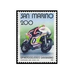 1 عدد تمبر مسابقه دوچرخه سواری - جایزه بزرگ سان مارینو - سان مارینو 1981