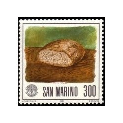 1 عدد تمبر روز جهانی غذا - سان مارینو 1981
