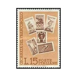 1 عدد تمبر روز تمبر - ایتالیا 1964