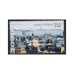 1 عدد تمبر بازار استروملینگ - فنلاند 2000