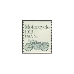 1 عدد تمبر موتورسیکلت - آمریکا 1983
