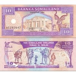 اسکناس 10 شلینگ - سومالی لند 1994