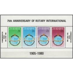 سونیزشیت 75مین سالگرد روتاری بین المللی - زیمباوه 1980