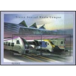 سونیزشیت خط قطار ویژه تندرو از مرکز کوالامپور به فرودگاه بین المللی - مالزی 2002
